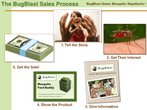 Using the Sales Process