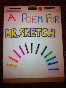 Mr Sketch