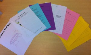 Multi Colored Handouts