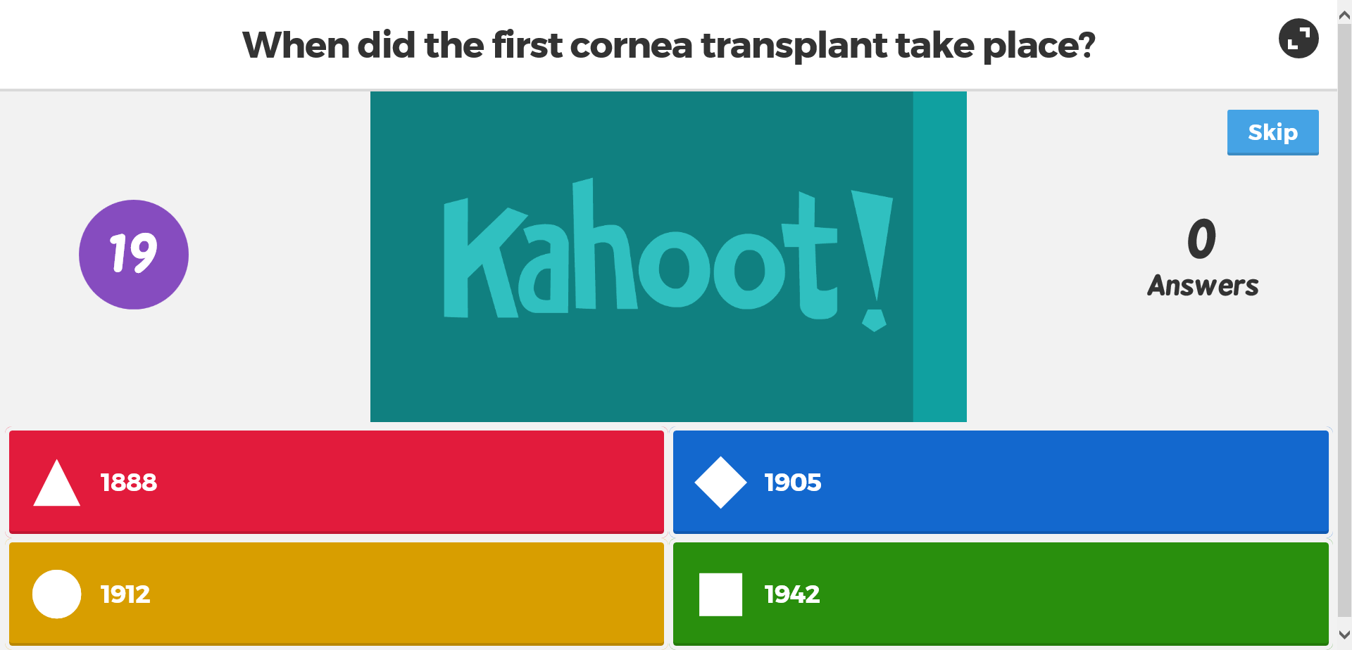 Kahoot Kahoot Family Feud For Meetings Train Like A Champion