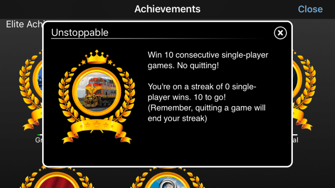 good example of gamification - 10 consecutive games