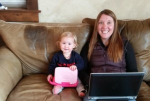 working remotely with kids