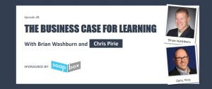 The business case for learning with Chris Pirie