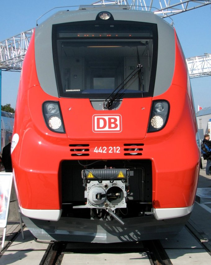 A Deutsche Bahn AG class 442 Electric multiple unit.