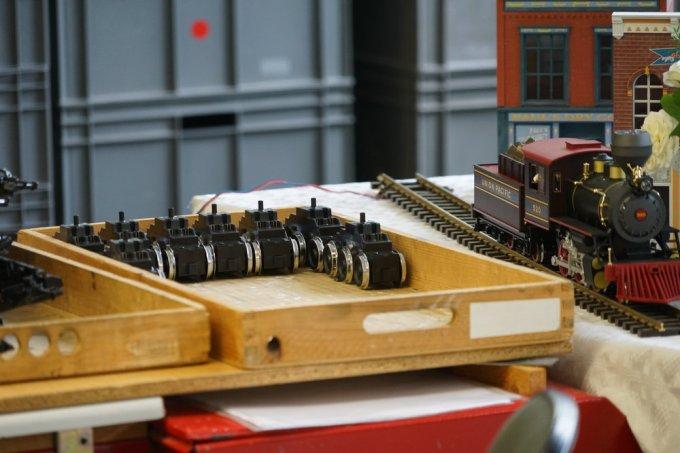 Motor and truck (bogie) assemblies for the Class 232