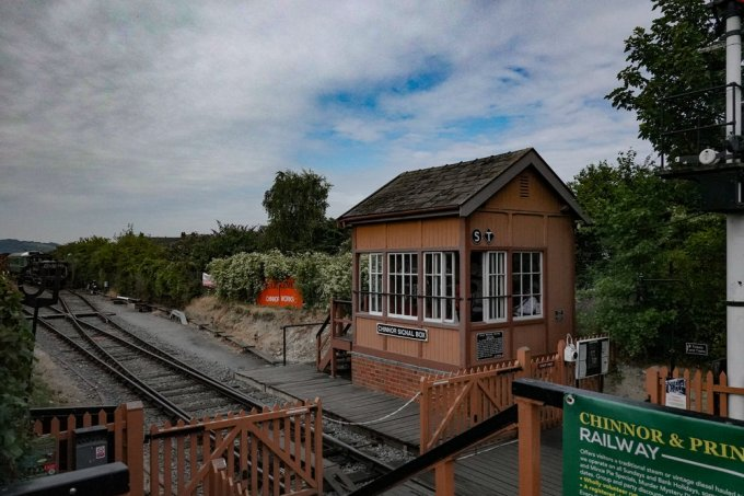 The Chinnor and Princes Risborough Railway signal box