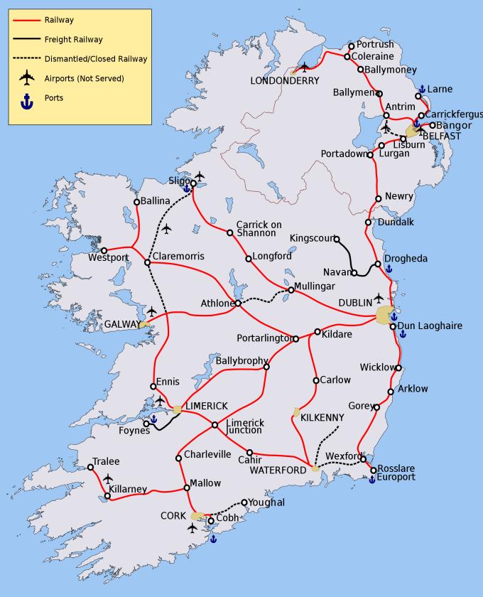 Irish Rail Network