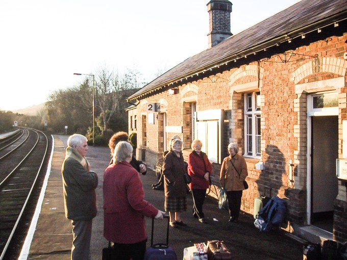 Llanwrtyd Wells (Wales) Village Station