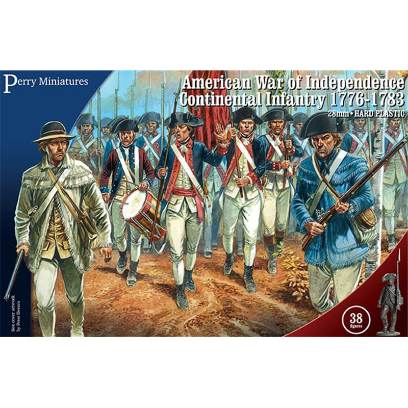 American War of Independence Continental Infantry 28mm