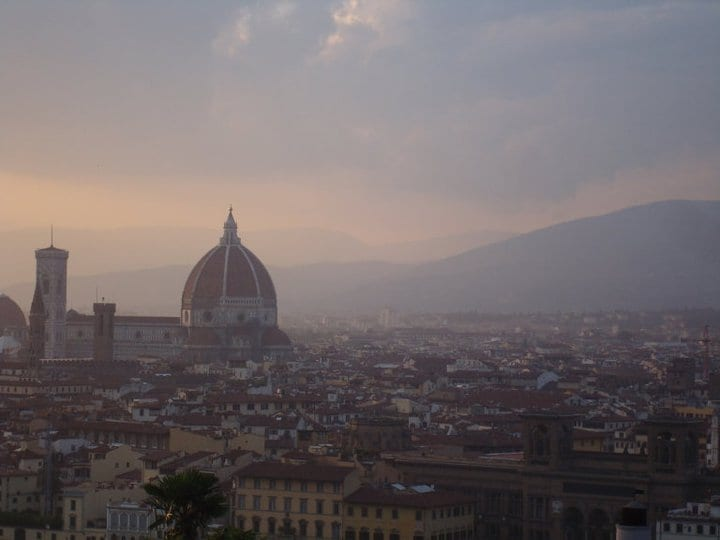 It is possible to visit expensive places like Florence on low budgets