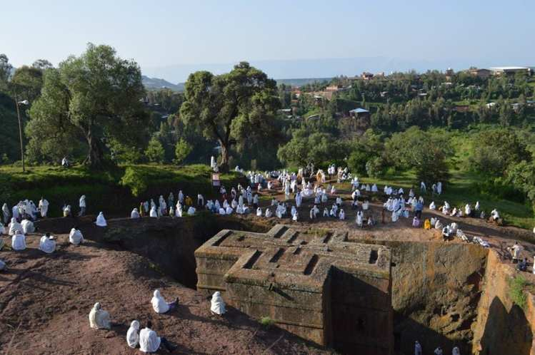 The rock-hewn churches of Lalibela cost $50 for three days