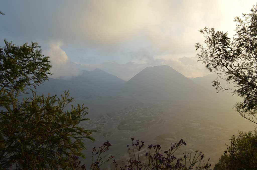 Visiting Bromo and Ijen without a tour means you can check out different viewpoints, like this little-visited gem