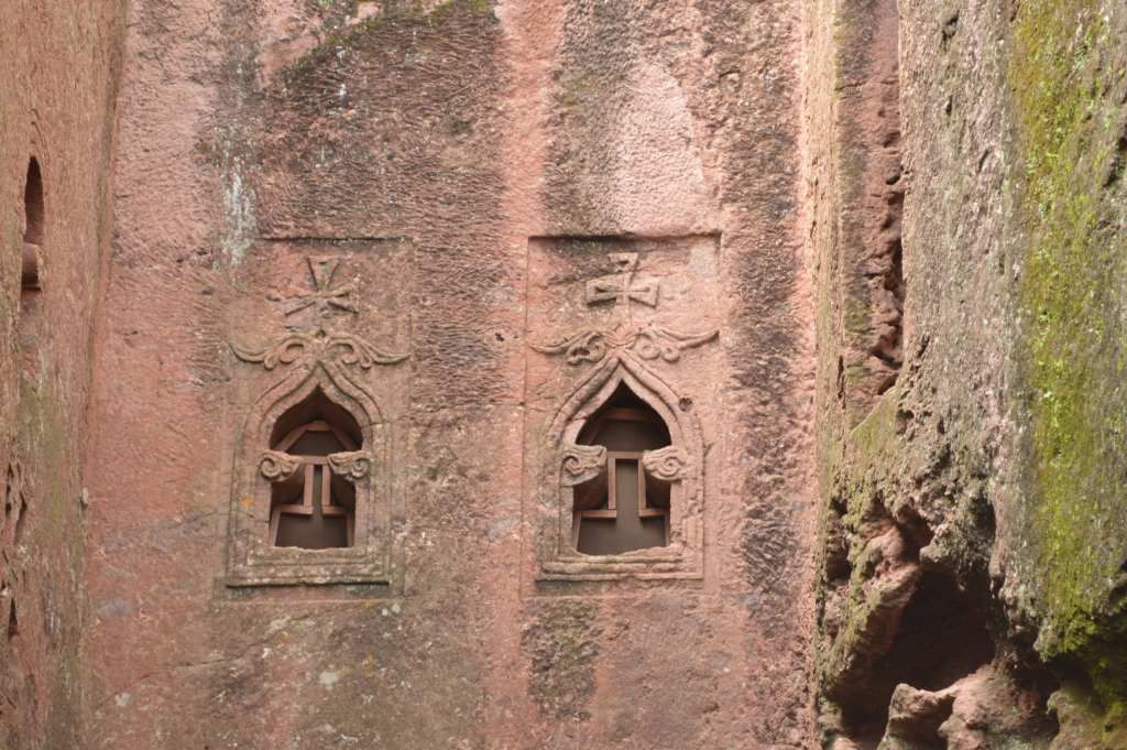 Golgotha is the only one of the Lalibela churches that women may not enter