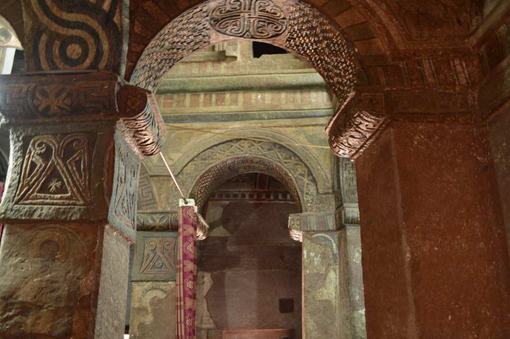 Bet Maryam is one church you can visit during your two days in Lalibela