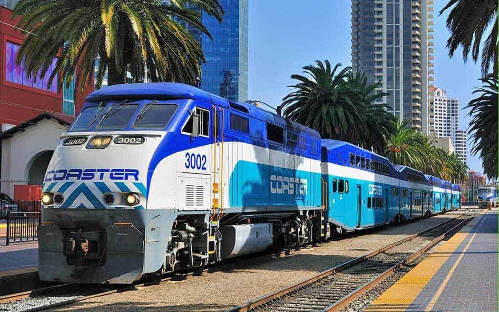 train travel california