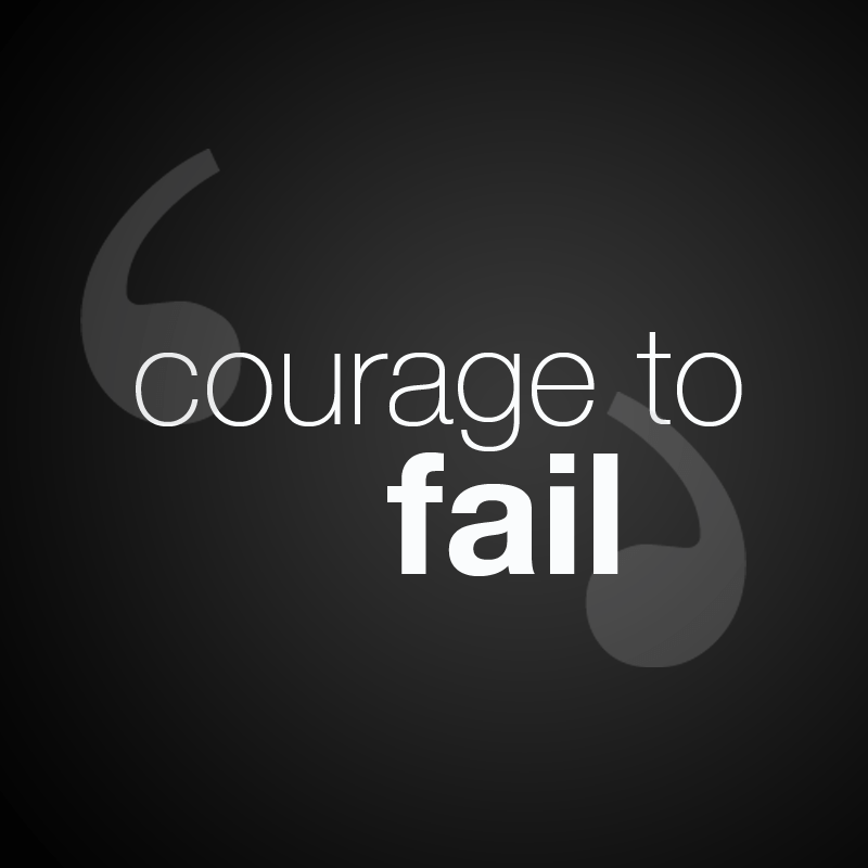Courage to Fail