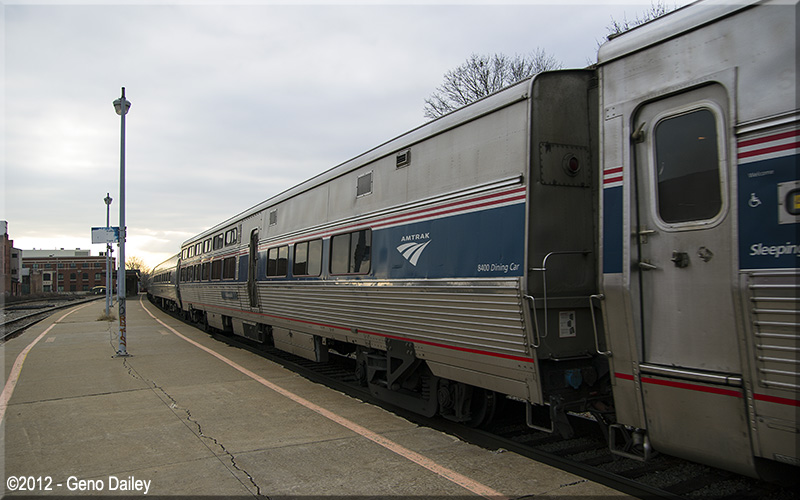 Now having arrived at Schenectady NY my destination on