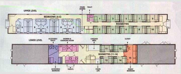 Amtrak Superliner Bedroom Floor Plan | Glif.org