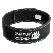 Bear Grip Hide Leather Weight Lifting Lever Buckle