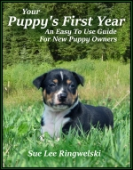 Your Puppy's First Year book cover thumbnail.