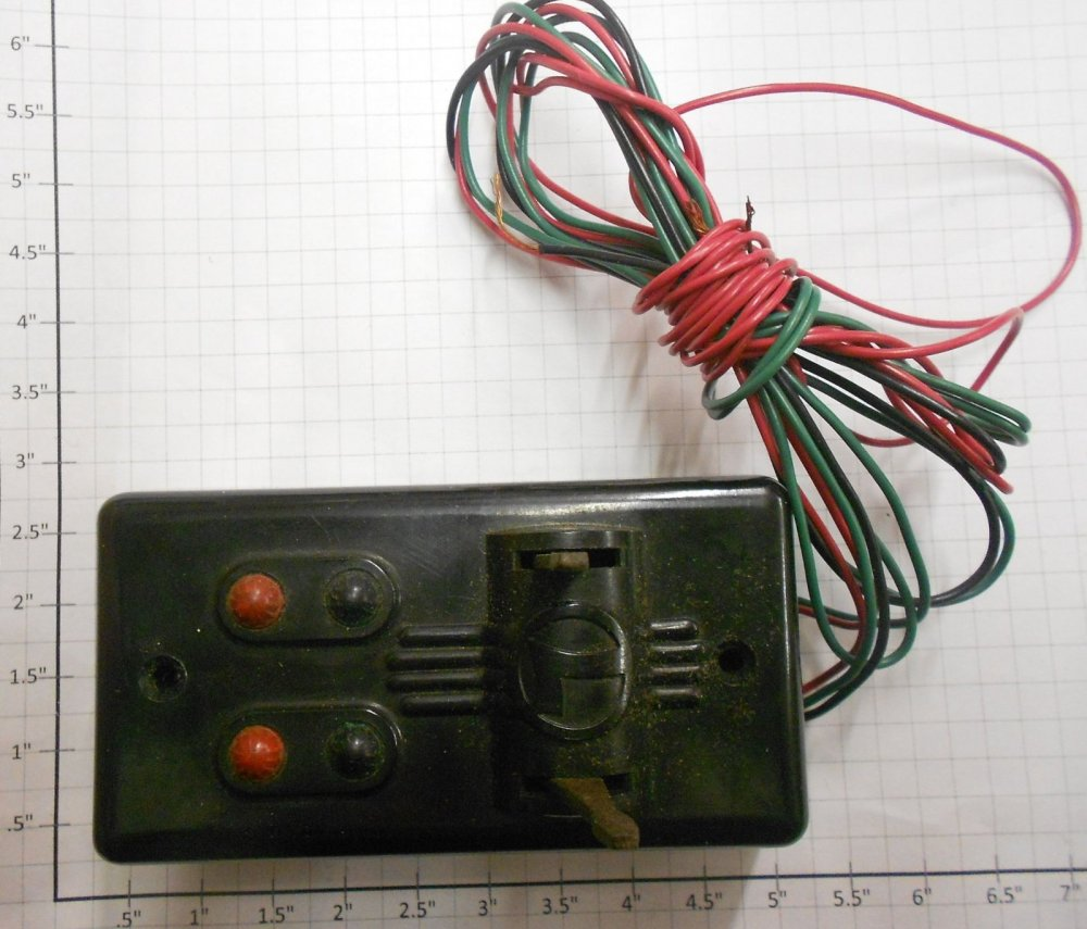 medium resolution of lionel 1121c 60 o27 switch controller with wiring