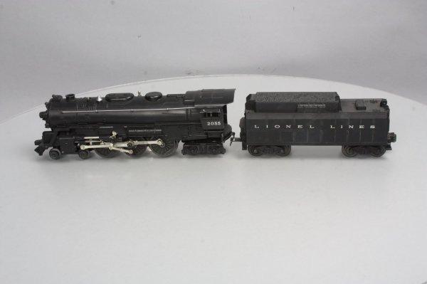 Lionel 2055 4-6-4 Hudson Steam Locomotive With6026w Tender