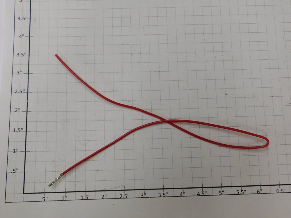 medium resolution of details about mth ie 35 molex terminal with red wire 3