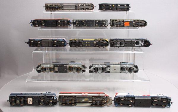 Ho Scale Prr Diesel Locomotives - Year of Clean Water