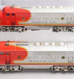 details about lionel 2353 santa fe f 3 aa diesel locomotive set [ 1600 x 1060 Pixel ]