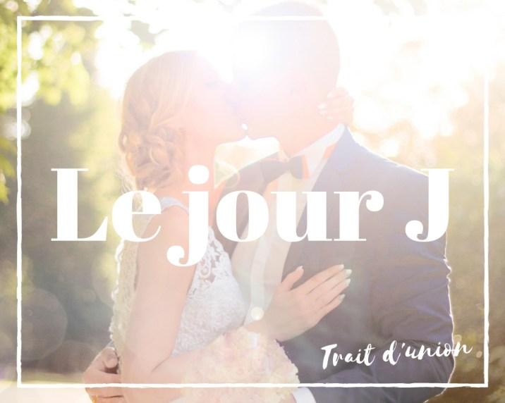 le planning mariage jour J avec trait d'union