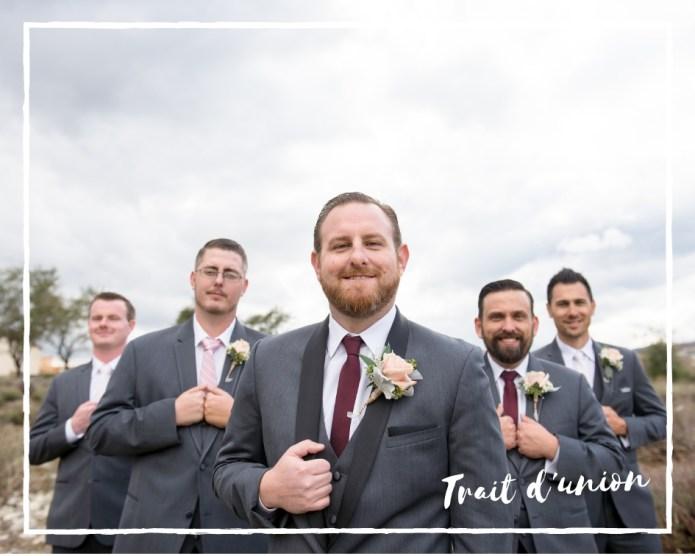 la tenue du témoin de mariage