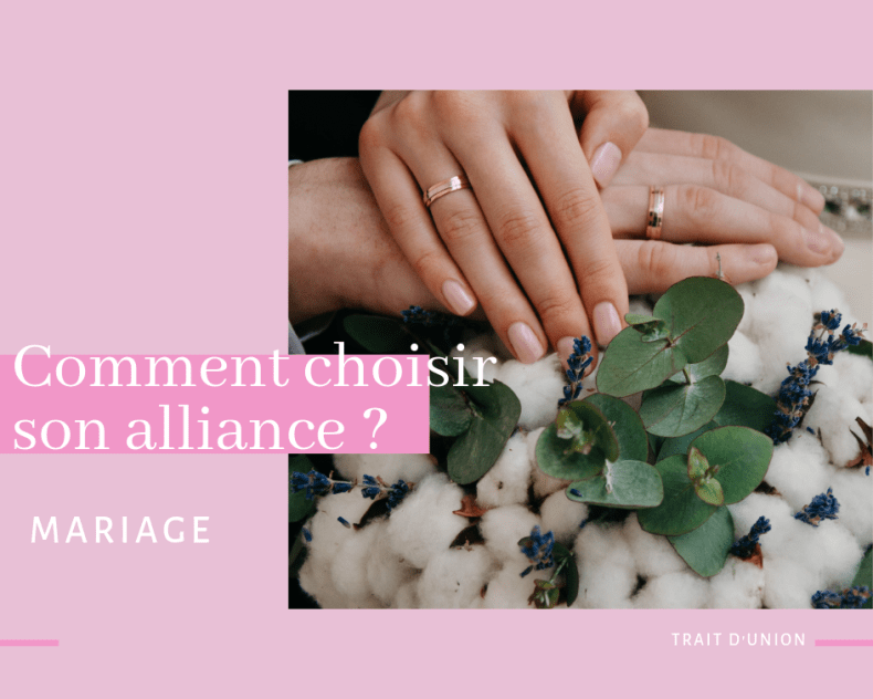 comment choisir son alliance avec trait d'union