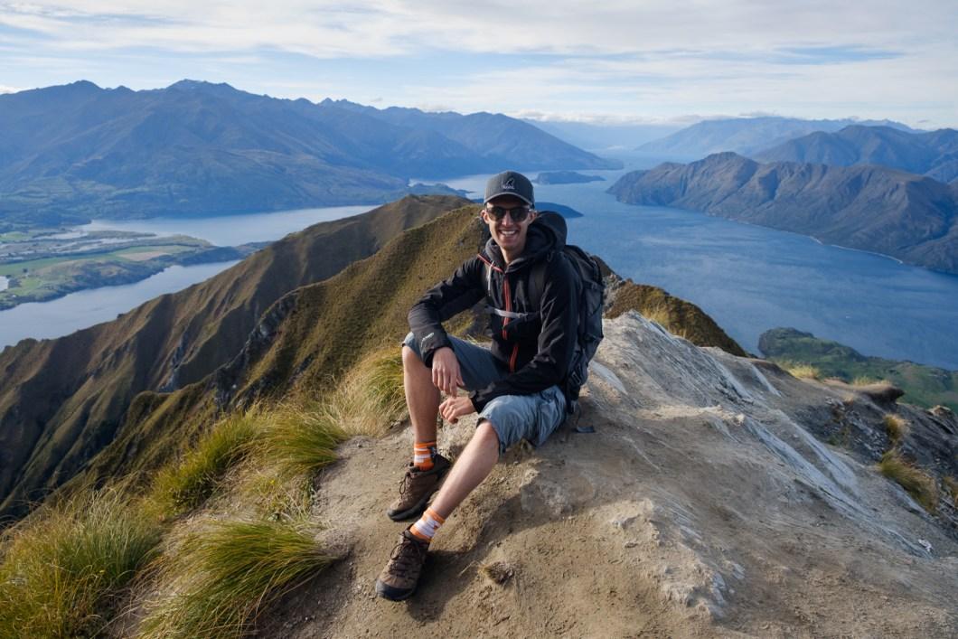 randonnée Roy's peak  nouvelle zélande