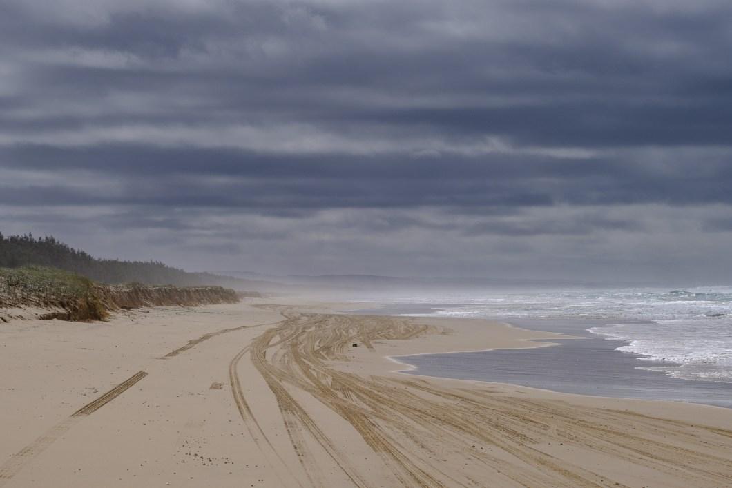 route sable plage