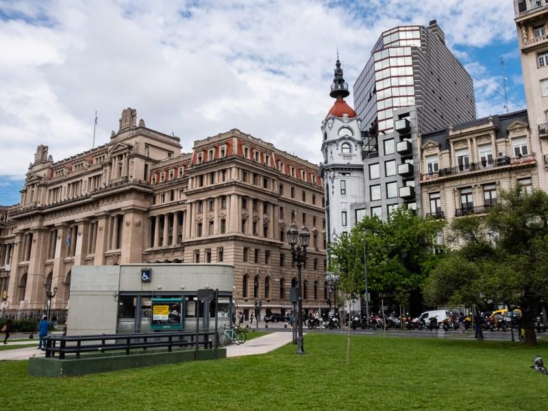 buenos aries centre ville argentine