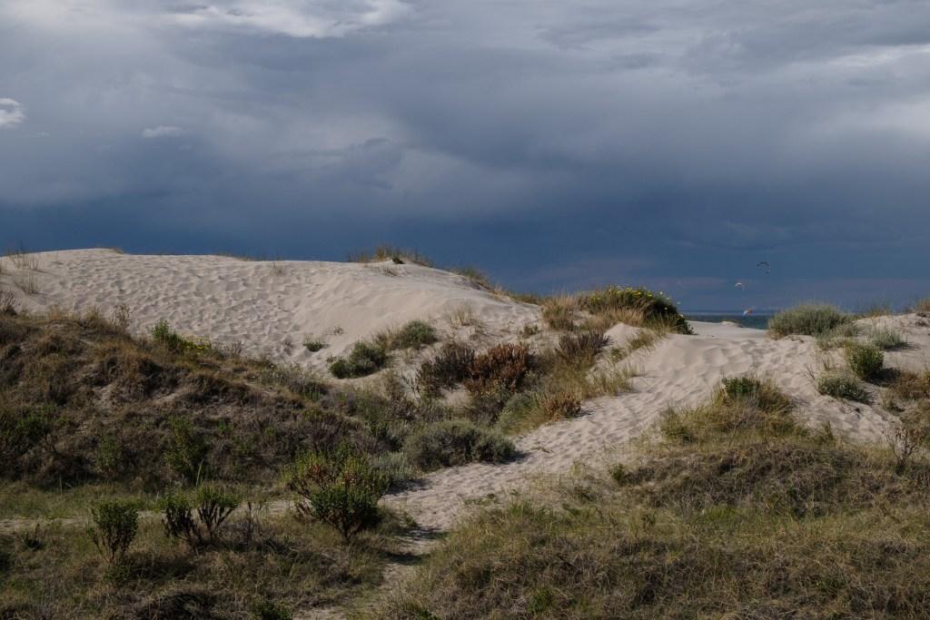 dune sable puerto madryn patagonie argentine