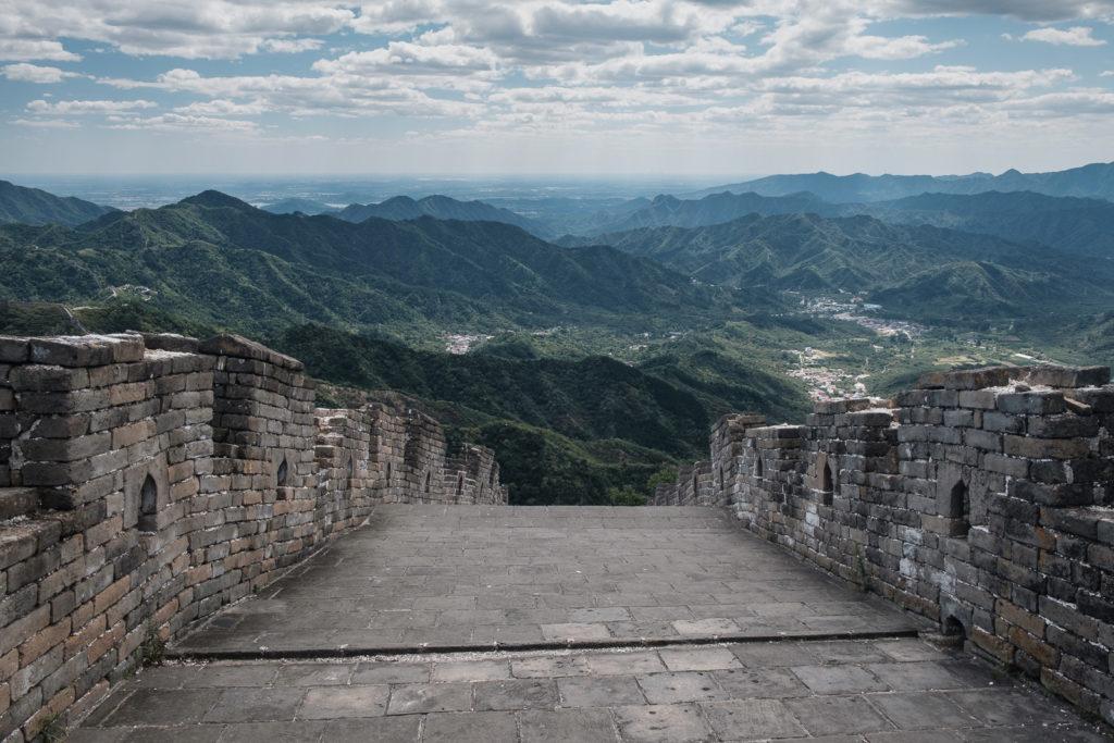mur de la grande muraille de chine