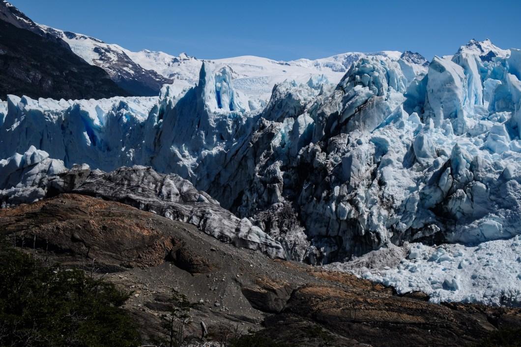 vue glacier perito moreno argentine el calafate