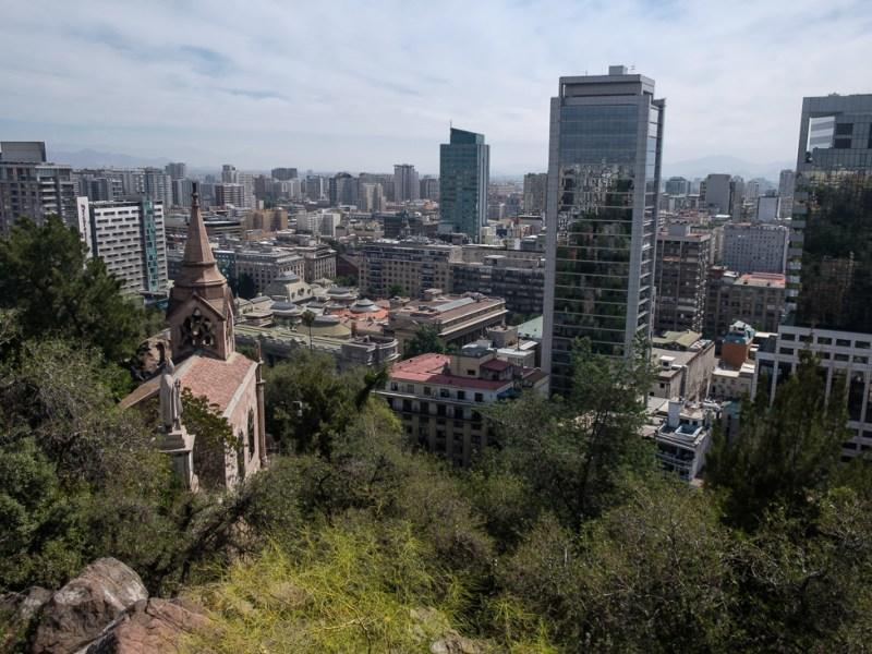 santiago chili ville capitale