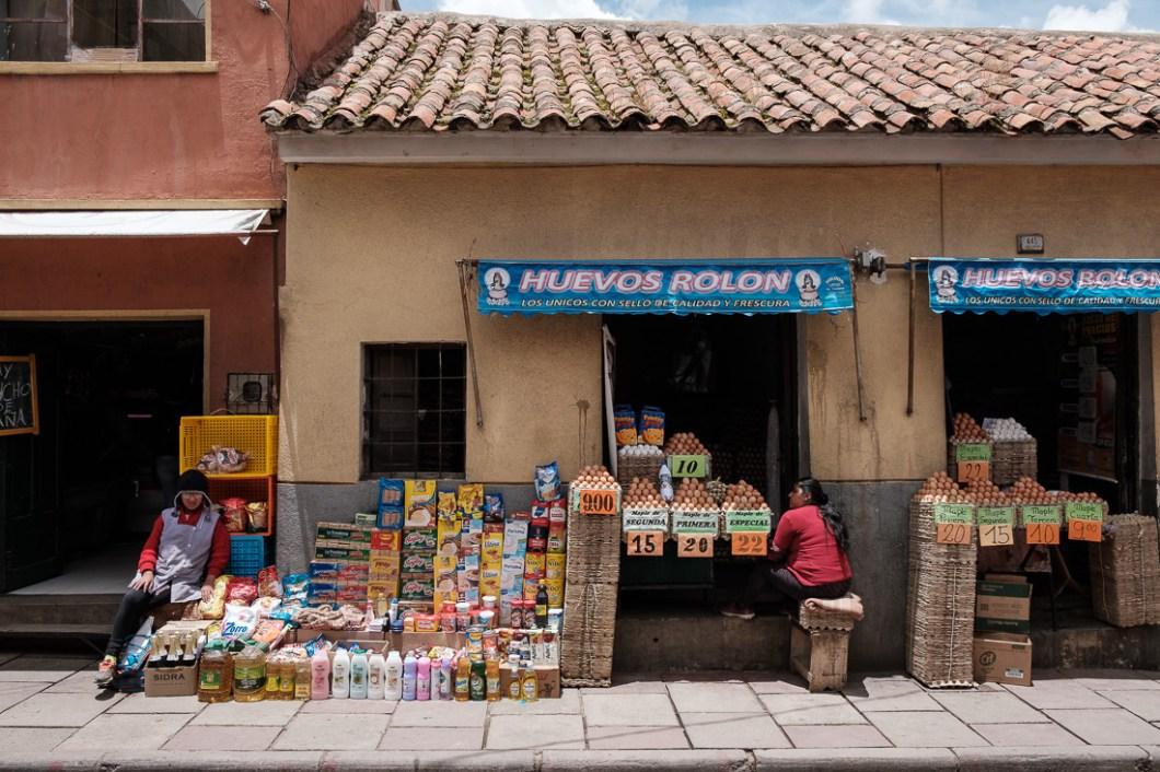 marché ville potosi bolivie