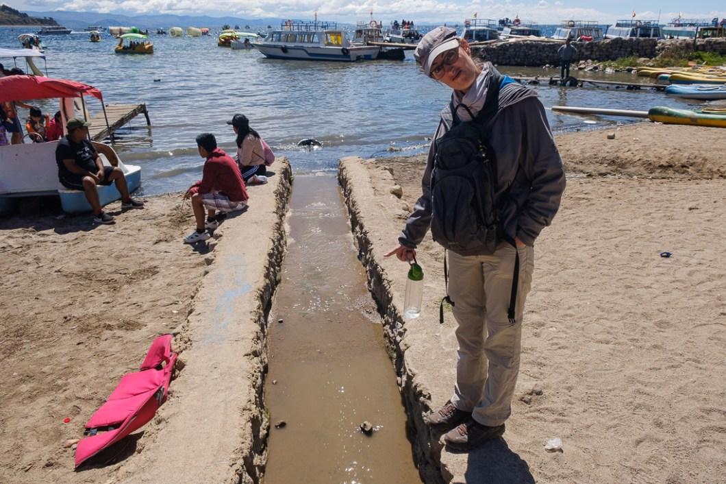 pollution lac titicaca