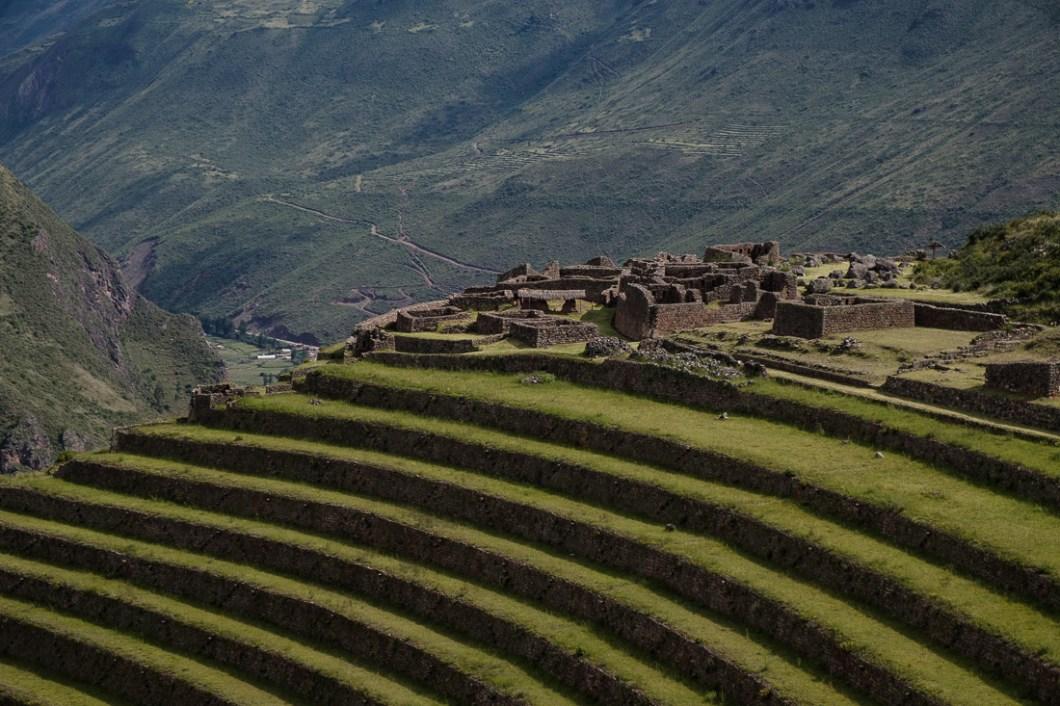 pisac site pérou ruines terrasses