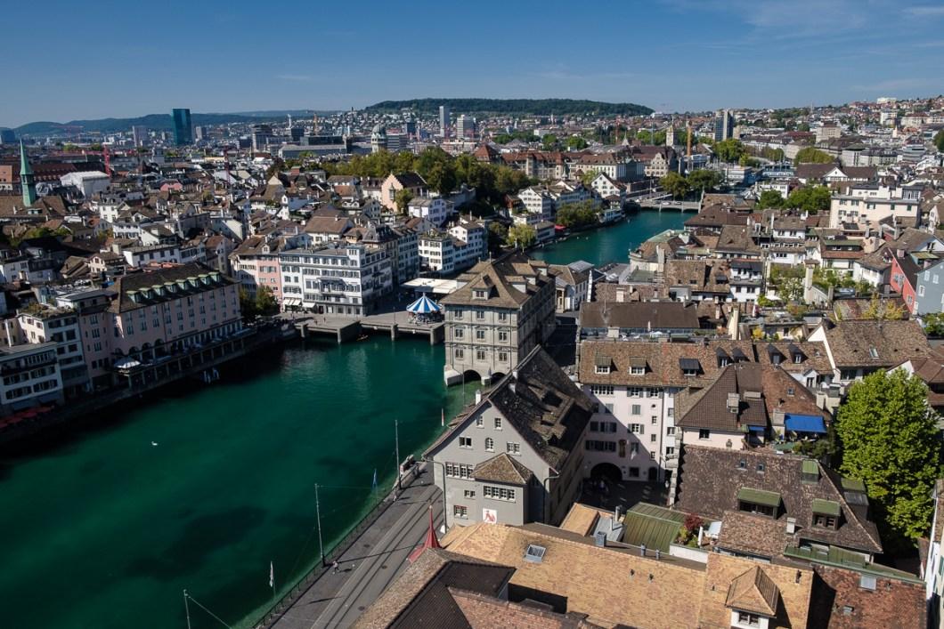 zurich suisse centre ville grossmunster