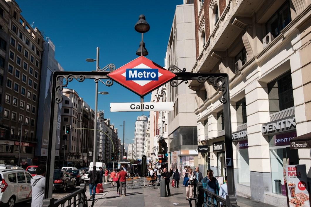 madrid station métro