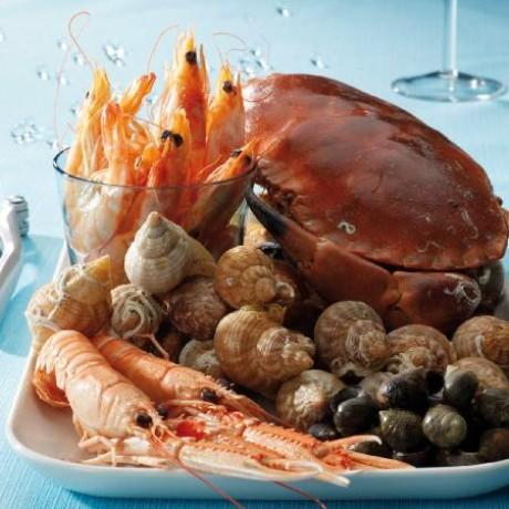 plateau de fruits de mer le tourteau 2 personnes