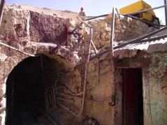 L'entrada de la mina