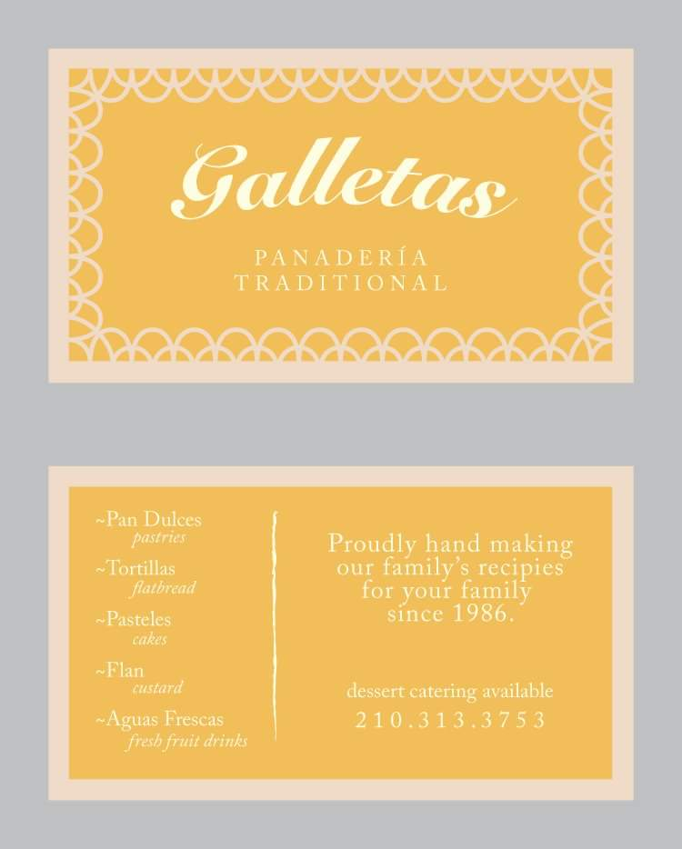 Galletas Business Card