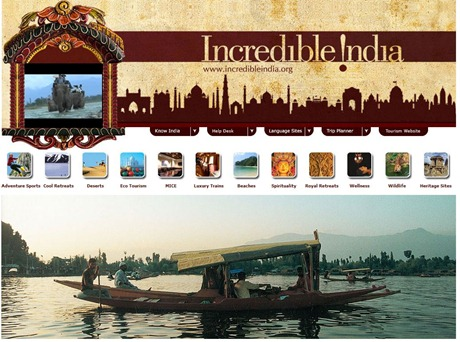 Incredible-India-Website