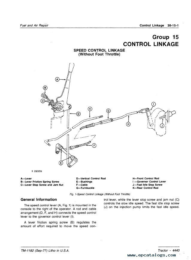 John Deere 155c Belt Diagram : deere, diagram, Deere, Parts, Manual, Trakhigh-power