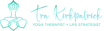 Tra Kirkpatrick Yoga Therapist + Life Strategist Logo